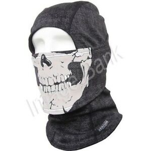 bg SKULL Balaclava /Cold Weather Wind Stopper Mask Winter Outdoor Sports Warmers