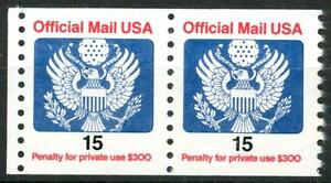 USA-STATI-UNITI-Servizio-1988-Aquila-stilizzata-15-cent
