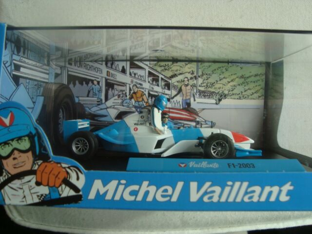 Miniature New 1/43 Michel Brave Vaillant F1 2003 Bd L Proof