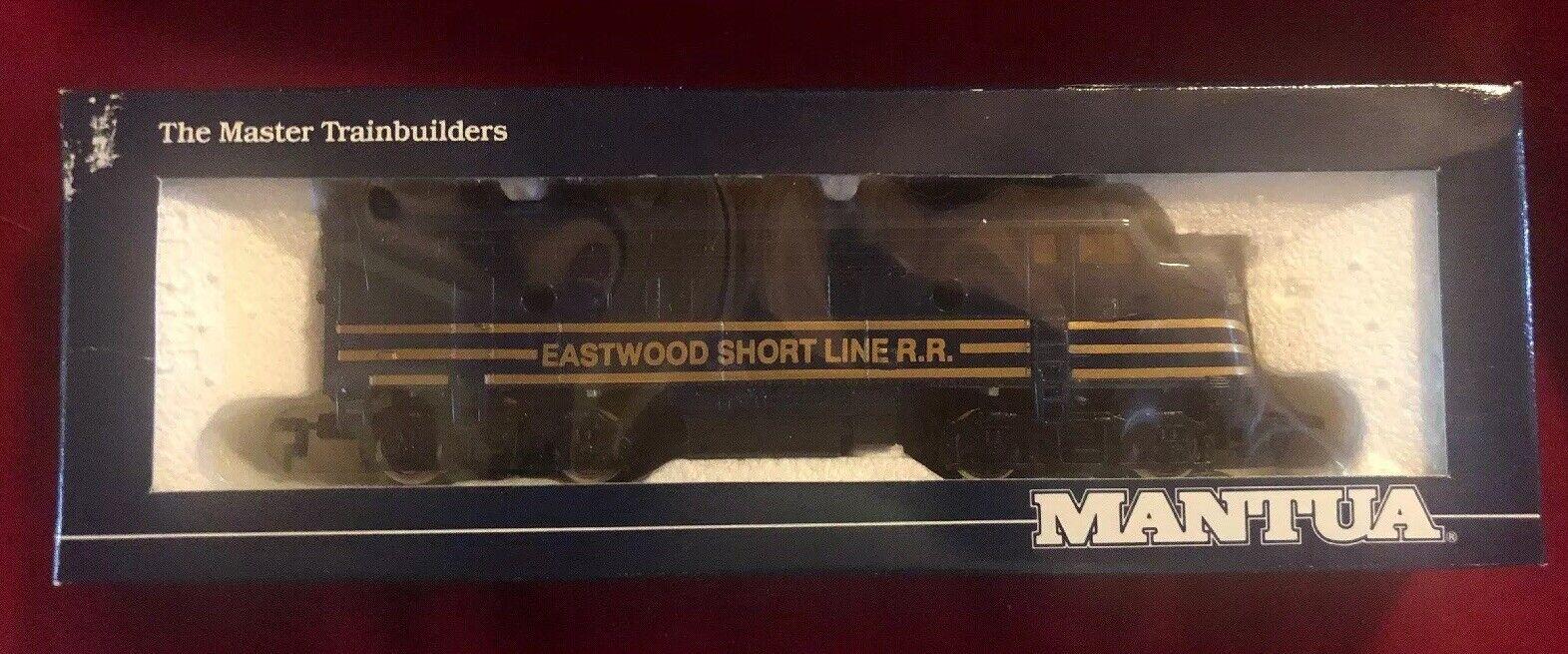Eastwood Short Line RR Mantua HO Set