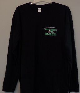 new styles 38696 be053 Details about Philadelphia Eagles Old Logo Embroidered Long Sleeve T-Shirt  S-6X, LT-4XLT New