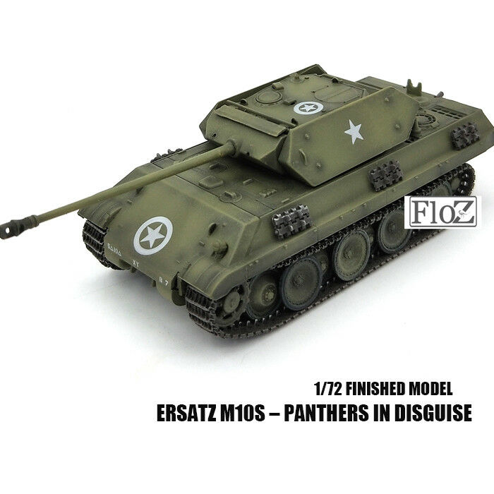DRAGON WWII  GERMAN Ersatz M10s – Panthers in Disguise 1 72 tank model finished