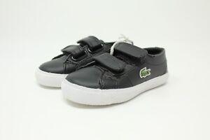 5b43a30ceab99 Lacoste Marcel S GT2   7-28SPI203802H Black   White Toddler Velcro ...