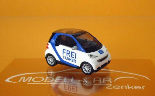 Busch 46135-01 Smart Fortwo 07 car2go libre petrolero scale 1 87