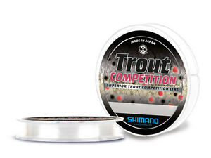MONOFILO-SHIMANO-TROUT-COMPETITION-0-16mm-300mt-made-in-japan-SPECIALE-TROTA