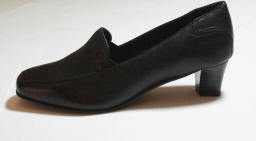 Black Leather High Heel Shoes Pro Comfort UK Size 7 #113 *SALE* SHOP CLEARANCE