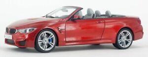 Paragon-97111-97112-BMW-M4-Cabrio-Modelo-Coches-Naranja-Negro-Zafiro-1-18th