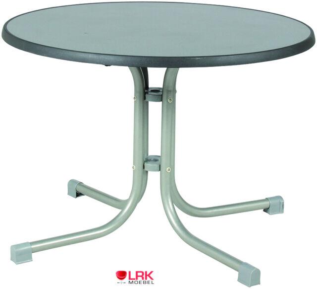 Gartentisch Acamp Piazza Basic Tisch O 100cm Ebay