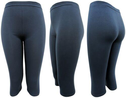 95/% Baumwolle Sommer-Leggings perfekt für den URLAUB 42-46 CAPRi-LEGGINGS 2x