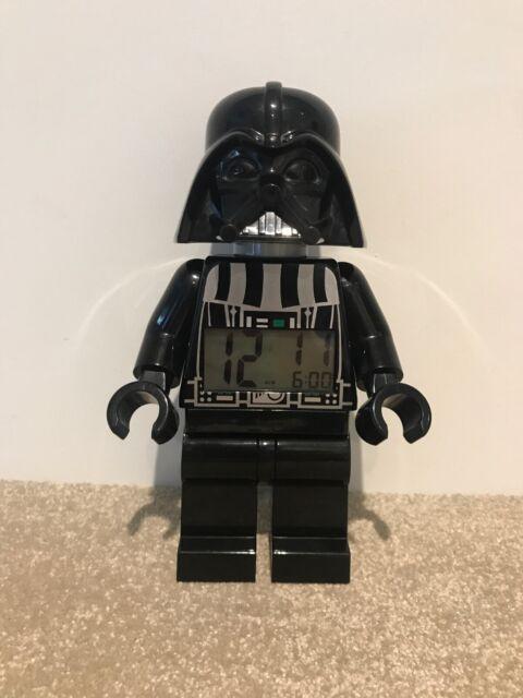 LEGO STAR WARS DARTH VADER Réveil Noir Mobile Mini Figure Digital