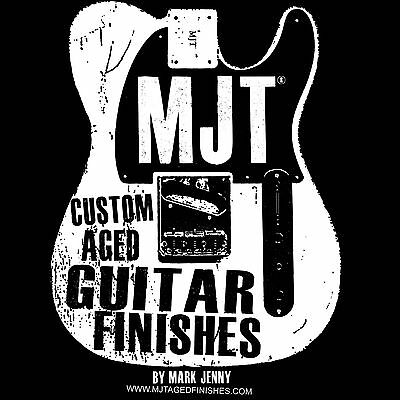 MJT Aged Guitar Finishes