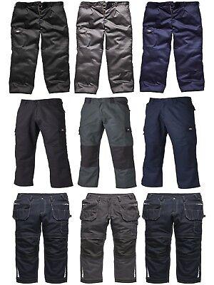 Men/'s Trade Hardwearing Various Sizes Dickies Everyday Work Trousers Grey