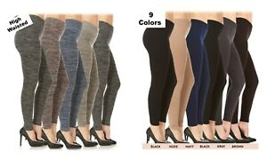 Womens-Fleece-Lined-Plus-Size-Leggings-Warm-Winter-Thick-High-Waisted-1X-2X-3X