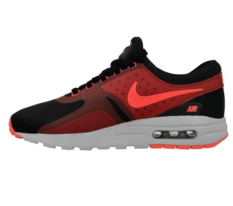 Nike Air Max Zero Essential 1 2018 38 38,5 39 40 schwarz rot  noir  Rouge 881224 005