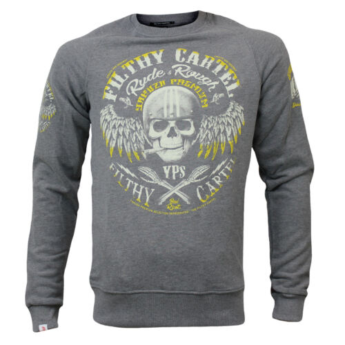 Yakuza premium señores Jersey 2624 gris en tallas s hasta 4xl