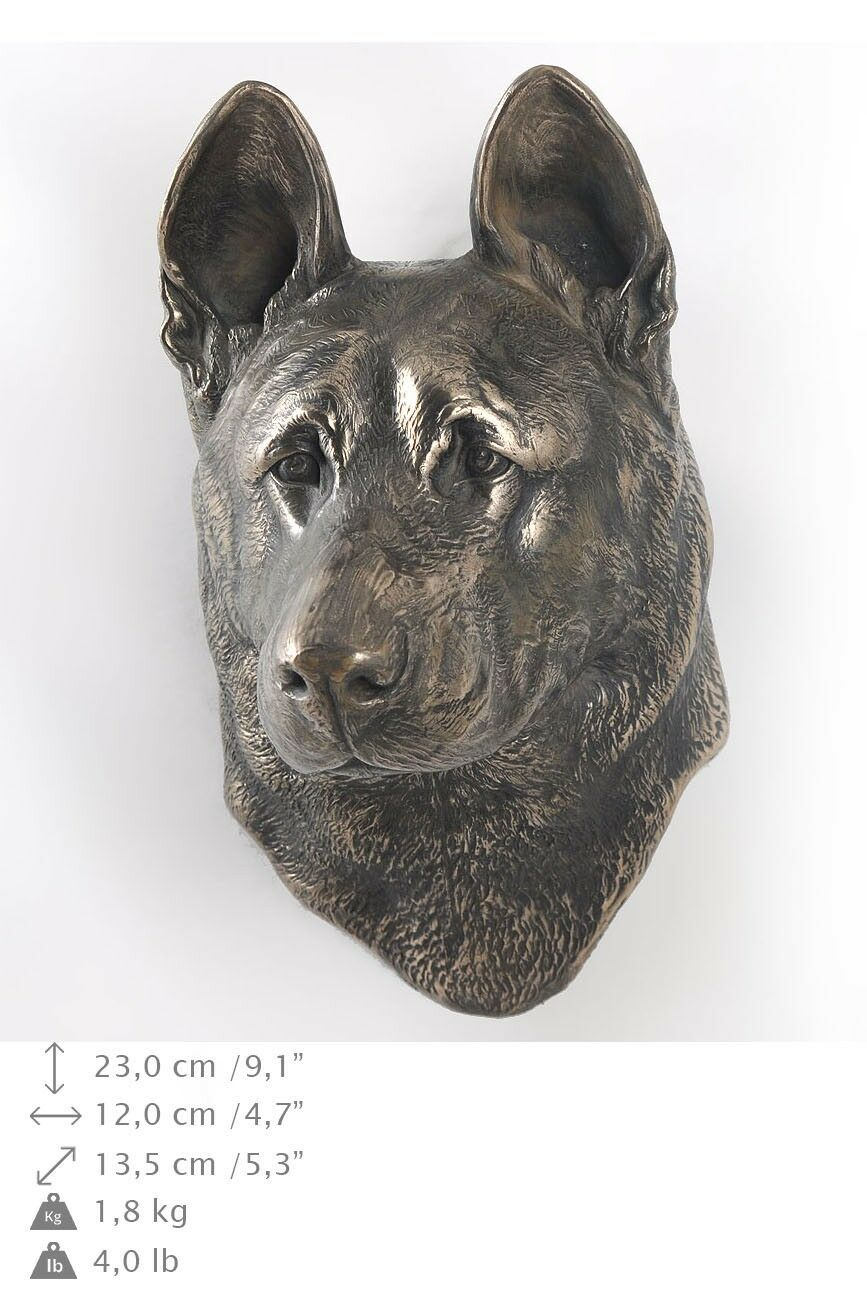 German Shepherd - dog figurine to hang on the wall, high quality, Art Dog