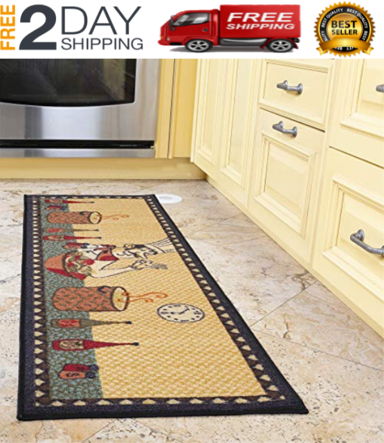 Kitchen Long En Washable Non Slip
