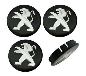 4-x-60-mm-peugeot-embellecedores-llantas-tapa-tapacubos-tapas-de-silicona-negra
