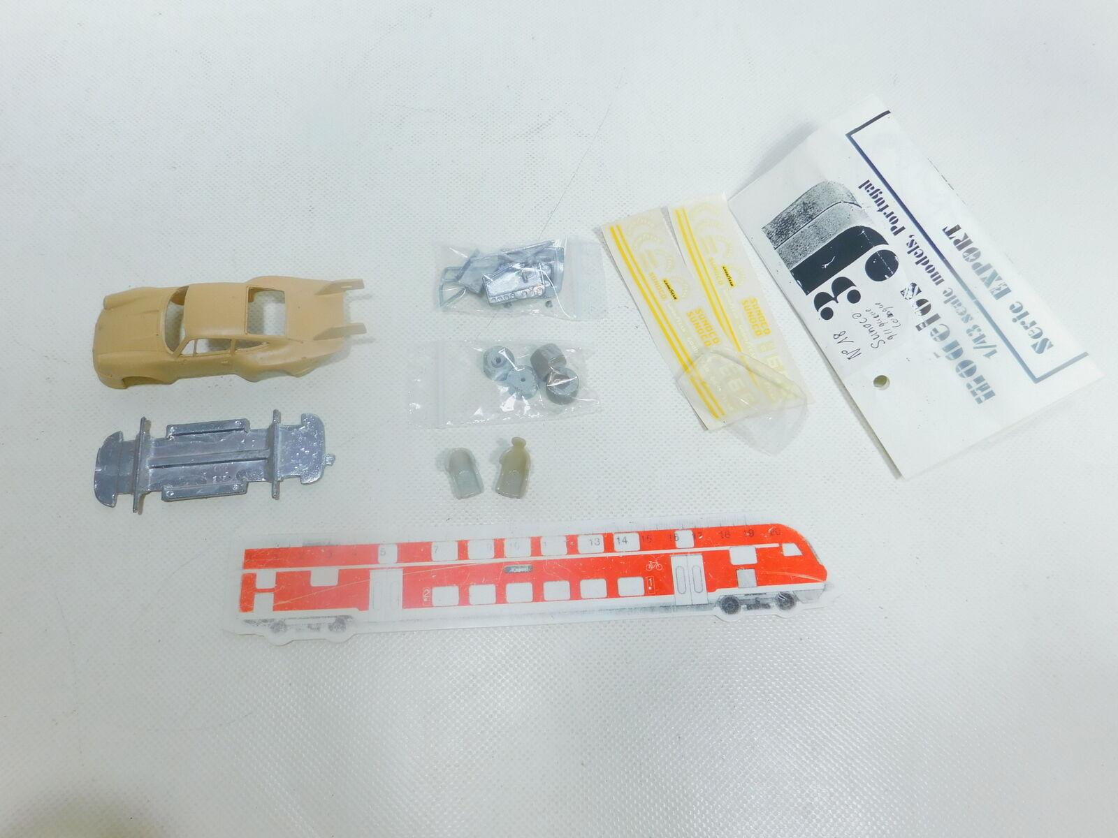 Bx801-0,5  3j Models 1 43 Kit de Montage Porsche Carrera Jamais-Assemblé,