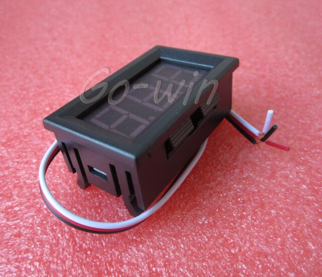 NEW Red LED Panel Meter Mini Digital Voltmeter DC 0V To 30V HIGH QUALITY