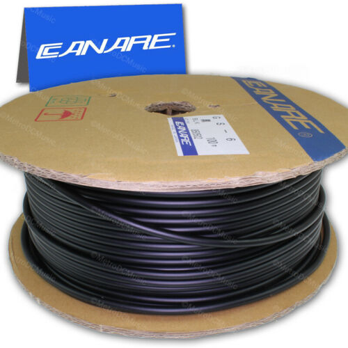 Canare GS6 BLACK BLUE RED Guitar Instrument Shielded Cable Bulk Feet 18AWG OFC