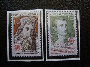 Andorra-French-Stamp-Yvert-and-Tellier-N-284-285-N-A22-Stamp-Andorra