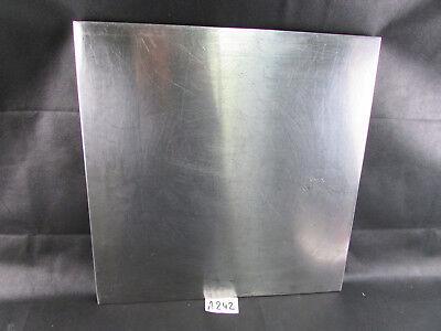 Edelstahl Flammschutzfilter Distanzstück Distanzblech BxHxT 500x500x20mm A242