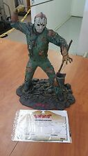 "NECA Friday the 13th Jason Vorhees 15"" Resin Statue #13/100 AP Signed"