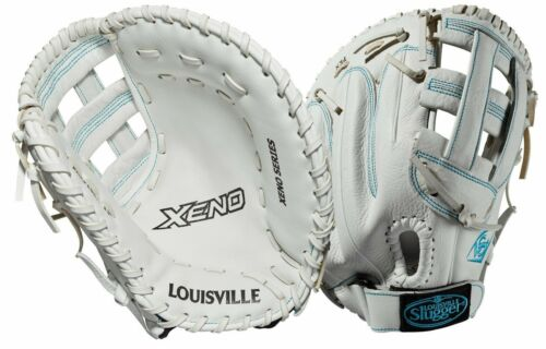 "Louisville Slugger Xeno 13/"" Women/'s Softball First Base Glove WTLXNRF19BM"