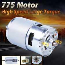 775 Dc Motor Ball Bearing Large Torque Power Low Noise 016a 24v 7000rpm L3a9