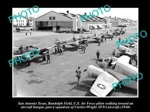 OLD-8x6-HISTORIC-PHOTO-OF-SAN-ANTONIO-TEXAS-US-AIR-FORCE-RANDOLPH-FIELD-1940