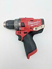 New Genuine Milwaukee 2504 20 12v Lithium Ion Fuel Brushless Hammer Drill