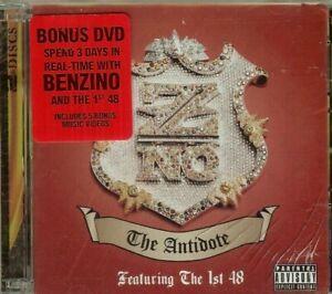 Benzino-Antidote-2-CD-SET-NEW-Explicit-Bonus-DVD