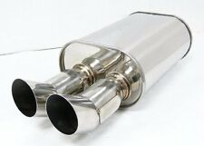 OBX/Forza Universal Muffler May fit:( prelude, ae86 , carolla ,wrx ) HR01-2.5
