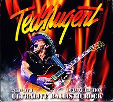 Ted nugrnt ultralive ballsticrock 2cd + DVD Nuovo OVP/SEALED
