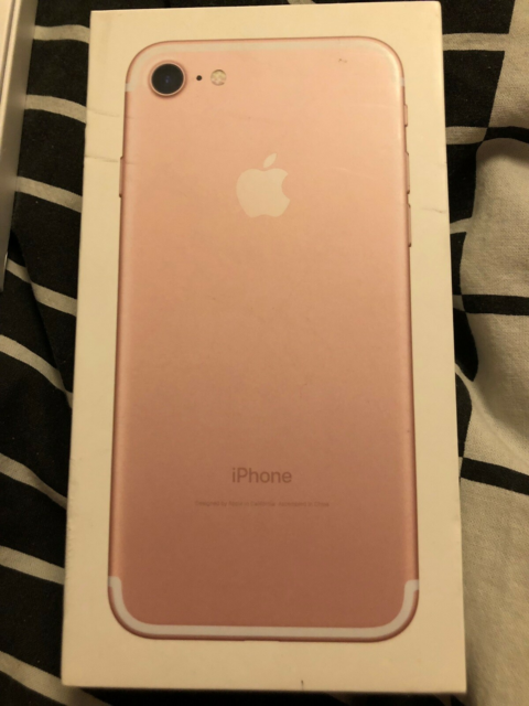 iPhone 7, 128 GB, pink, Perfekt, IPhone 7 rose gold, 128…