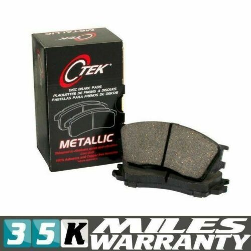 NEW 1986-1995 COMPLETE SET FRONT BRAKE PAD CENTRIC FITS MAZDA RX-7 METALLIC