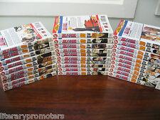 BLEACH by TITE KUBO SHONEN JUMP SET OF 29 Volumes SJ VIZ MEDIA manga Vol