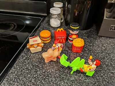 Old McDonald Toys From Late 80s Early 90s And Early 2000s ...