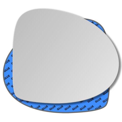 Droit Côté Passager Miroir De Verre Rétroviseur Extérieur Pour Renault TWINGO 2007-2010