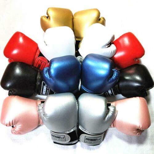 Kinder Boxhandschuhe zum Spaß Muay Thai Sanda Martial Punching Gloves Nice I9O1