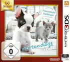 Nintendogs + Cats: Französische Bulldogge & neue Freunde (Nintendo 3DS, 2011, Keep Case)