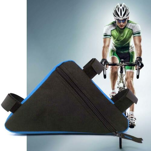Sports Accessories Bike Cycling Triangle Bag Front Frame Bicycle Color Pouch DI