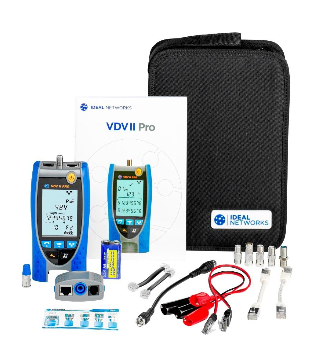 Ideal R158003 VDV II Pro Voice, Data and Video Cable Verifier NEW UK Supplier