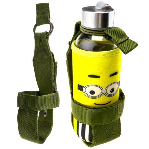 Tactical Camping Hiking Water Bottle Holder Belt Carrier Pouch Bag Nylon 2 Color
