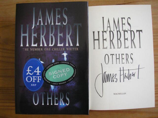 JAMES HERBERT - OTHERS  1st/1st  HB/DJ  1999  SIGNED
