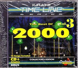 Details about Chartbuster Karaoke Timeline CD+G - CB80025 Vol  3 Best Of  2000 Pop