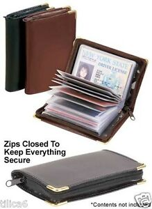 Deluxe-leather-Credit-Card-Holder-Room-for-34-Business-or-Credit-Cards