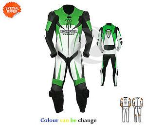 De Una Sola Pieza Moto Gp Prenda Superbike Carreras Traje Cuero 3aa1f7475fc8c
