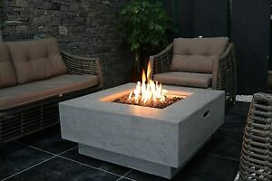 Manhattan (Eco Stone) - Gas Fire Pit